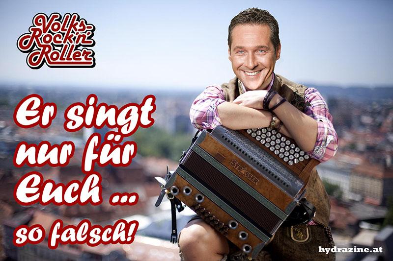 """Strache: """"Es spricht der Bergsteiger zu uns!"""""""